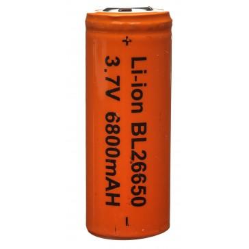 Батарейка аккумуляторная Li-ion BL 26650 5200mAh 3.7v