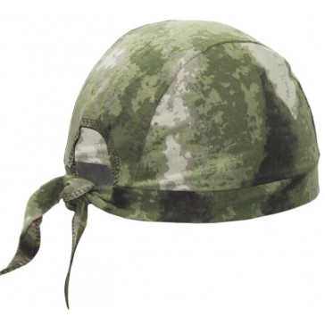 Бандана на завязках (зелёный мох)