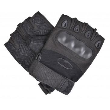 Перчатки тактические OAKLEY с открытыми пальцами (черные)