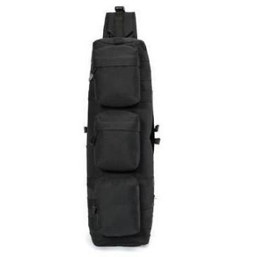 Рюкзак тактический однолямочный Скат 20 литров (чёрный)