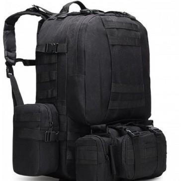 Рюкзак тактический Military Combat 50 литров (чёрный)