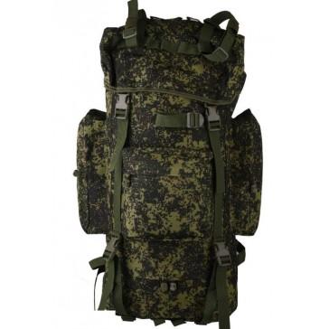Рюкзак тактический походный 70 литров (зелёная цифра)