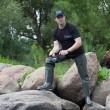 сапоги болотники рыбацкие NORDMAN 15 ПВХ+ВИНИТОЛ (олива)