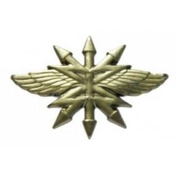 Эмблема петличная ВС Войска Связи защитная
