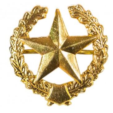 Эмблема петличная ВС Общевойсковая золотистая