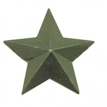 Звезда на погоны большая гладкая 20 мм защитная