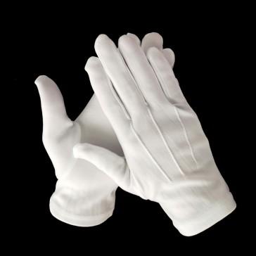 Перчатки парадные белые армейские