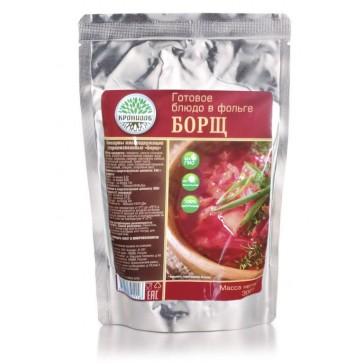 Борщ стерилизованный первое блюдо 300 гр (кронидов)