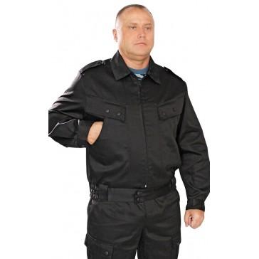 Костюм охранника летний (черный)