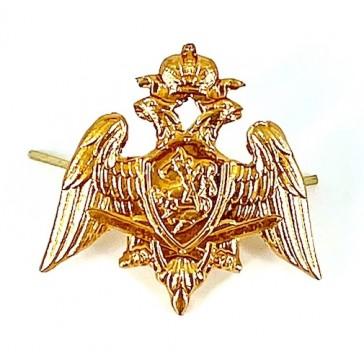 Эмблема петличная Росгвардия Орел (золото)