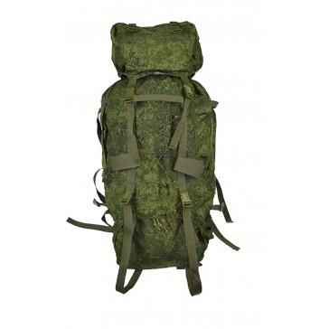 Рюкзак альпинистский армейский 80+20 литров (Цифра) оптимальный вариант для многозадачных режимов