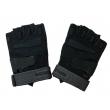 Перчатки тактические BLACKHAWK с открытыми пальцами (черные)