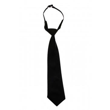 Галстук форменный уставной (черный)