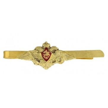 Зажим для форменного галстука ВС общевойсковой (золотистый)