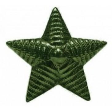Звезда на погоны большая рифленая 20 мм защитная