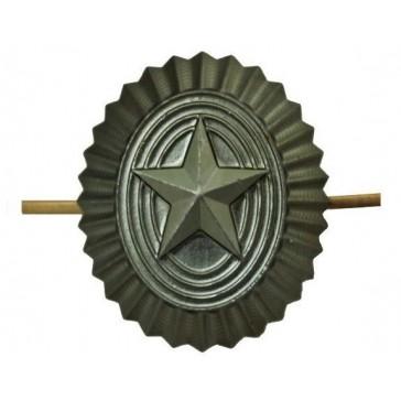 Кокарда РА со звездой защитная