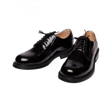 Туфли офицерские лакированные на шнурках армейские  БТК-групп ВКБО (уставные)