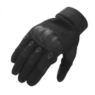 Перчатки тактические OAKLEY с закрытыми пальцами (черные)