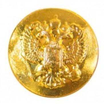 Пуговица МО малая 14 мм золотистая