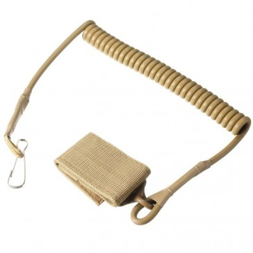 Шнур пистолетный страховочный (песочный)