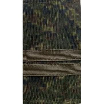 Фальш погоны Младший сержант ВС пиксель 2 галунные ленты полевые (уставные)