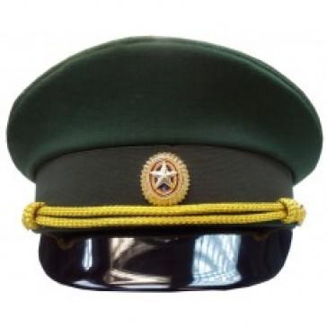 Фуражка СВ офисная зеленая БТК-Групп ВКБО (уставная)