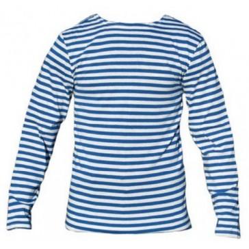 Тельняшка-фуфайка с полосками голубого цвета армейская БТК-групп (уставная)