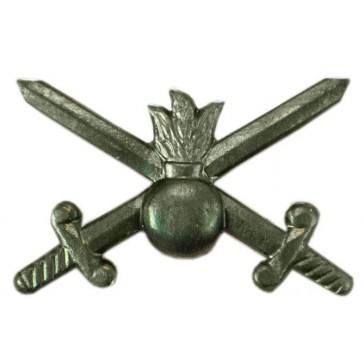 Эмблема петличная ВС Сухопутные войска защитная