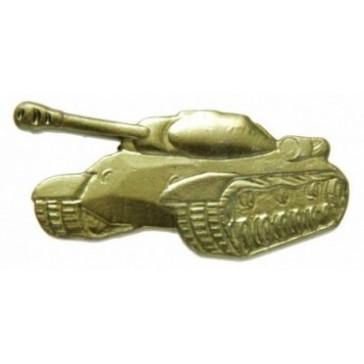 Эмблема петличная Танковые войска защитная