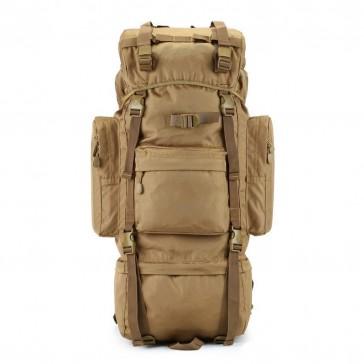 Рюкзак тактический походный 70 литров (пустыня)