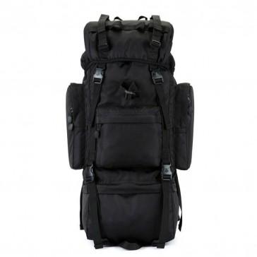 Рюкзак тактический походный 70 литров (черный)