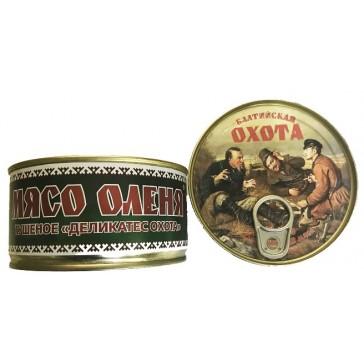 """Мясо Оленя тушеное """"ОХОТА"""" 325 гр"""