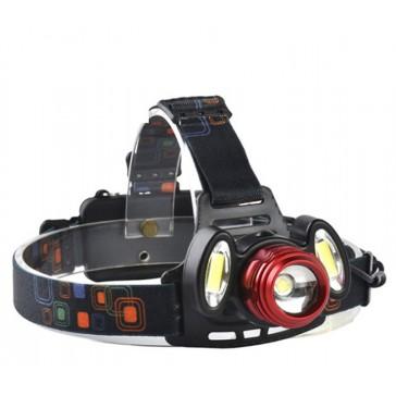 Налобный фонарь светодиодный аккумуляторный YT 1500 T6+2COB