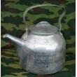 Чайник армейский литой алюминиевый СССР (3 литра)