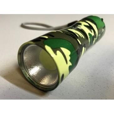 фонарик туриста камуфлированный светодиодный