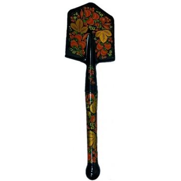 Саперная лопата МПЛ-50 СССР сувенирная в росписи Хохлома