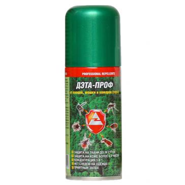Средство от клещей, комаров, мошек (кровососущих) универсальное Дэта-Проф 140 мл