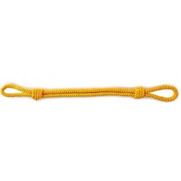 Филигранный шнур на фуражку (жёлтый)