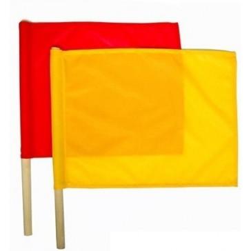 Флажки сигнальные армейские в чехле (красный и жёлтый)