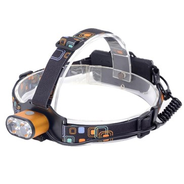 Налобный фонарь светодиодный аккумуляторный HL-K28-T6