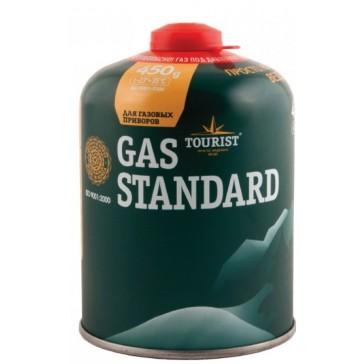 Газовый баллон картридж резьбовой для портативных газовых приборов 450 мл