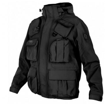 Куртка демисезонная на флисе Marien Corps 7.26 (чёрная)