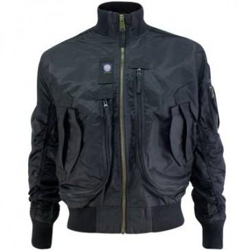Куртка тактическая Flight Bomber (чёрная)