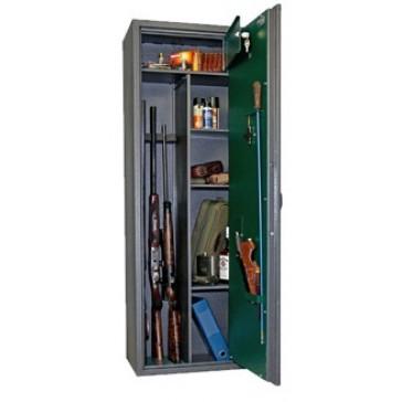 Оружейный сейф Safetronics MAXI 5P ЕM/К3 (3 ствола)