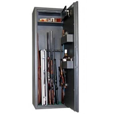 Оружейный сейф Safetronics MAXI 5PM (5 стволов)