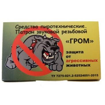 Патрон звуковой резьбовой Гром (защита от агрессивных животных)